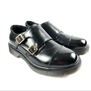 Electric Karma Scotty Black Cap Toes Shoes Size 6